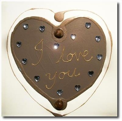 I love you (personalised)  SOLD