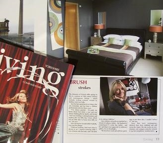 Me in Living Magazine