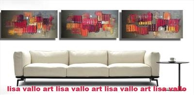 Huge triptych available to order in colours of your choice