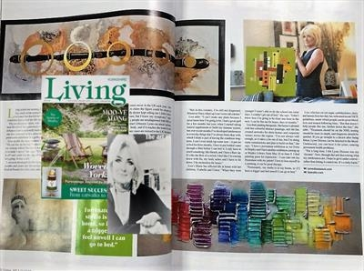 Lisa Vallo Artist/Living with Lyme Disease/Living mag 2018