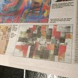 Art work feature done by the Telegraph and Argus and THE BIG by lisa vallo art, Illustration