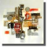 Autumn Life SOLD by lisa vallo, Painting, Mixed Media on Canvas