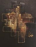 Bronze SOLD by lisa vallo, Painting