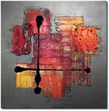 Cross my Heart SOLD by lisa vallo, Painting, Mixed Media on Canvas