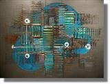 Deep Blue Sea 2 SOLD by lisa vallo, Painting, Mixed Media on Canvas