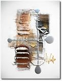 Golden Depths 2 by lisa vallo, Painting, Mixed Media on Canvas
