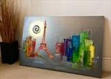La Jolie Paris by lisa vallo art, Painting, Mixed Media on Canvas