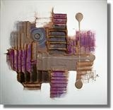 Sugar Plum 2 by lisa vallo, Painting, Mixed Media on Canvas