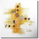 Sun Burst (choose your colours) by lisa vallo art, Painting, Mixed Media on Canvas