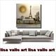 The Eiffel Tower and Mirabeau Bridge SOLD by lisa vallo (2)